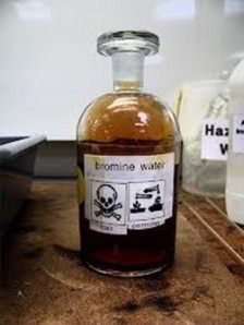bromine water large